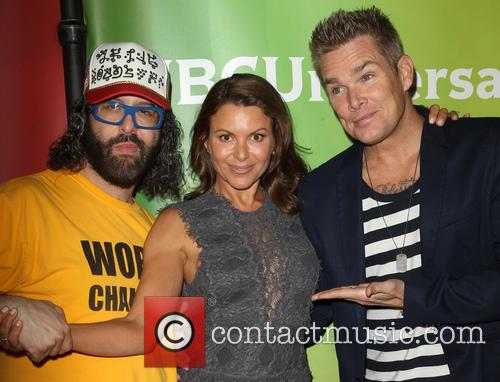 Judah Friedlander, Kari Wührer and Mark Mcgrath