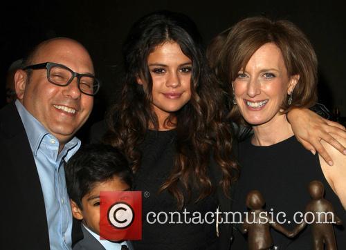 Willie Garson, Selena Gomez, Anne Sweeney and Nathen Garson