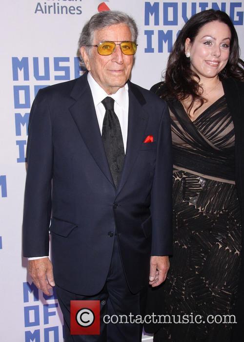 Tony Bennett and Joanna Benedetto