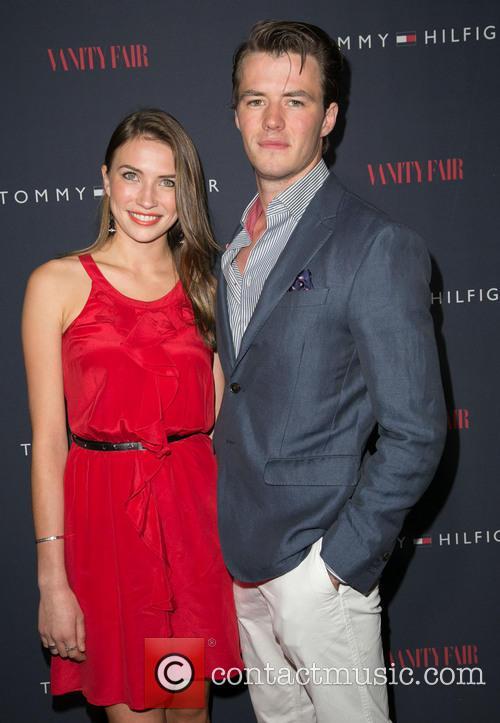 Lauren Cohan and Thomas Cocquerel 1