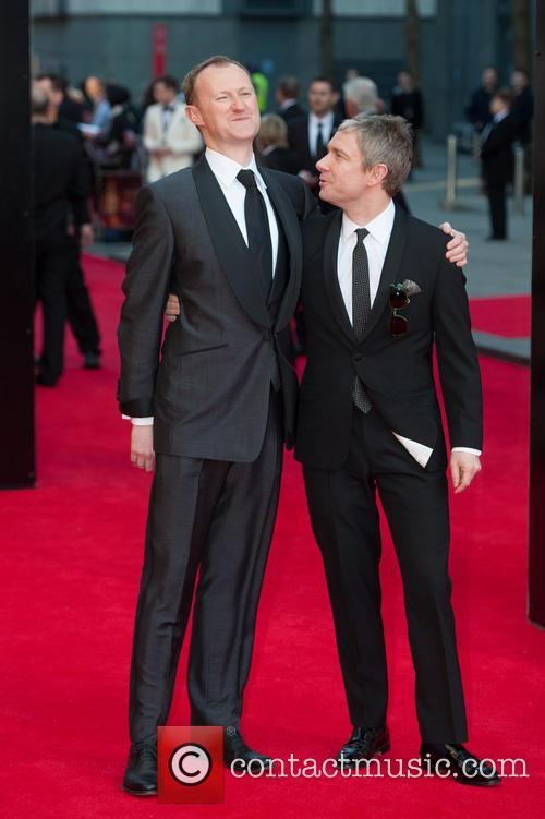 Mark Gatiss and Martin Freeman