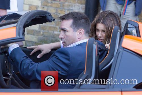 Kate Beckinsal and Rob Riggle