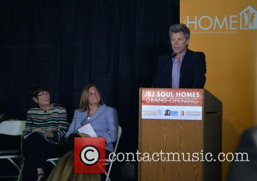Jon Bon Jovi, Joan Dawson Mcconnon and Sister Mary Scullion