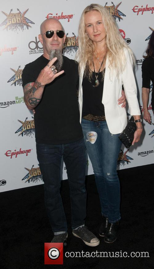 Pearl Aday and Scott Ian 2