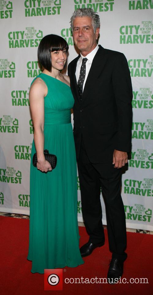 Ottavia and Anthony Bourdain
