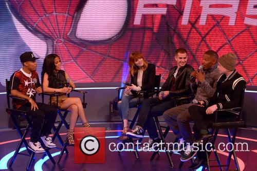 Bow Wow, Keshia Chante, Emma Stone, Andrew Garfield, Jamie Foxx and Dane Dehaan