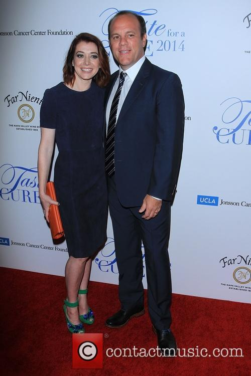 Alyson Hannigan and Tom Papa