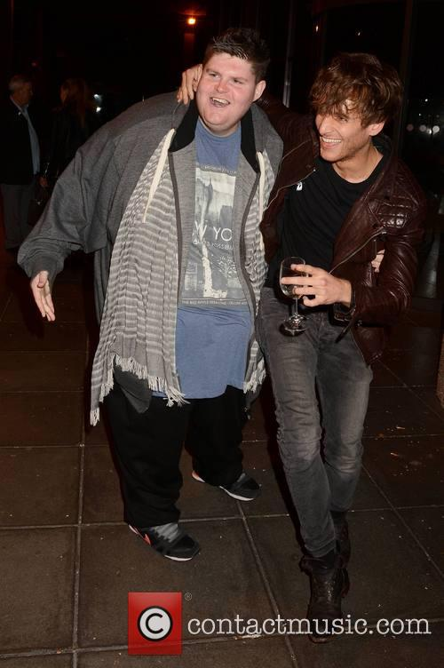 Paolo Nutini and Eddie Jones