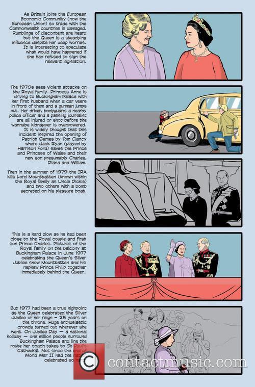 Female Force, Queen, England, Elizabeth Ii' Comic Book and Artwork 6