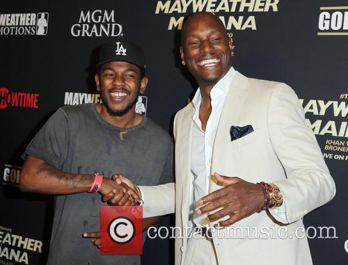 Kendrick Lamar and Tyrese 5