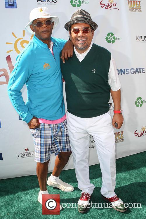 Samuel L. Jackson and George Lopez 2