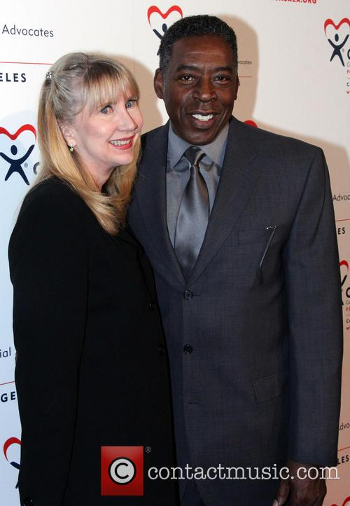 Linda Hudson and Ernie Hudson