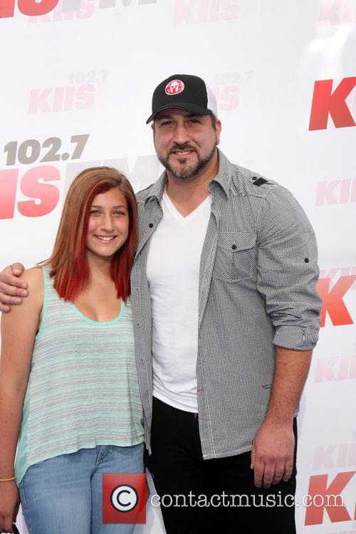 Joey Fatone and Briahna Joely Fatone 8