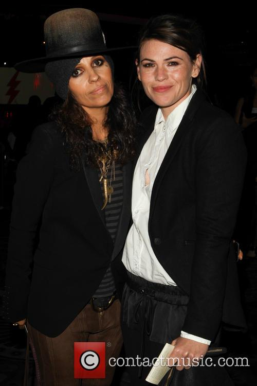 Linda Perry and Clea Duvall
