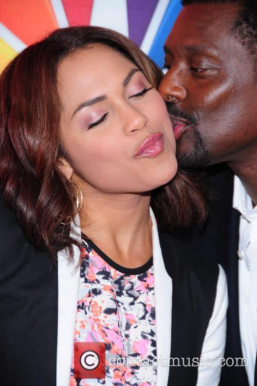 Monica Raymund and Eamonn Walker