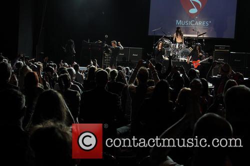Billy Morrison, Ozzy Osbourne, Tommy Clufetos and Slash