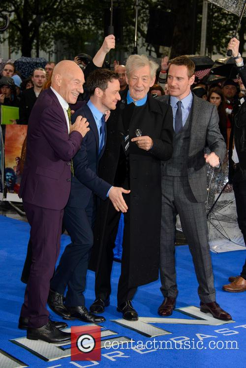 Sir Patrick Stewart, James Mcavoy, Sir Ian Mckellen and Michael Fassbender