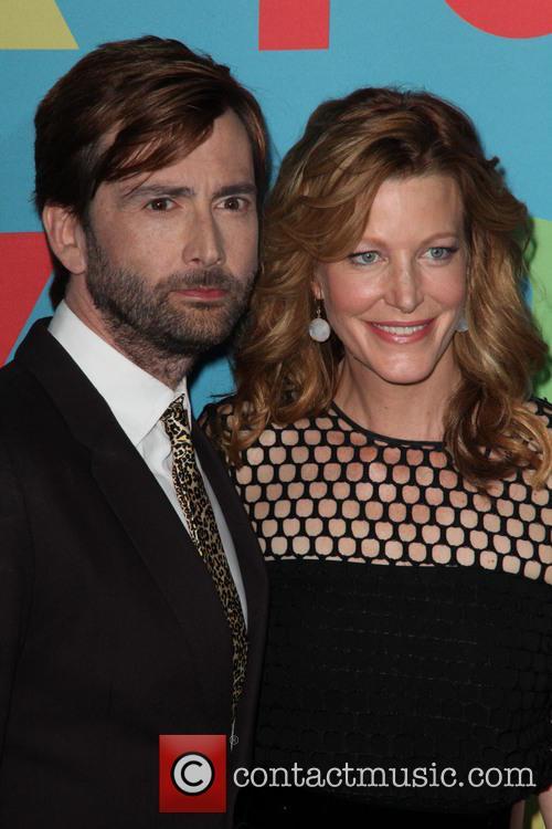 David Tennant and Anna Gunn 1