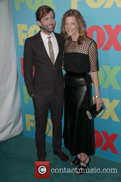 David Tennant and Anna Gunn 3