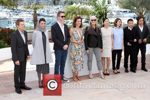 Nicolas Winding Refn, Carole Bouquet, Sofia Coppola, Jane Campion, Gael Garcia Bernal, Jia Zhangke, Jeon Do-yeon, Leila Hatami and Willem Dafoe