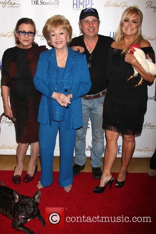 Carrie Fisher, Debbie Reynolds, Todd Fisher and Catherine Hickland 8
