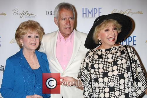 Debbie Reynolds, Alex Trebek and Ruta Lee