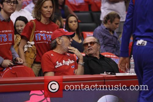 James L. Brooks and Jack Nicholson