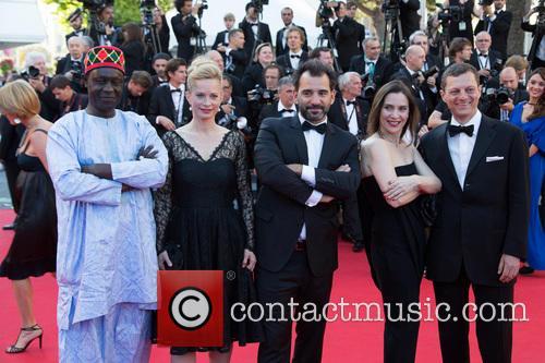 Moussa Toure, Maria Bonnevie, Pablo Trapero, Géraldine Pailhas and Peter Becker
