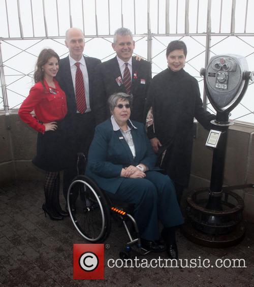 Janet Weinberg, Isabella Rossellini and Osvaldo Perdomo
