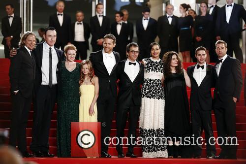 Mireille Enos, Atom Egoyan, Ryan Reynolds, Scott Speedman and Rosario Dawson