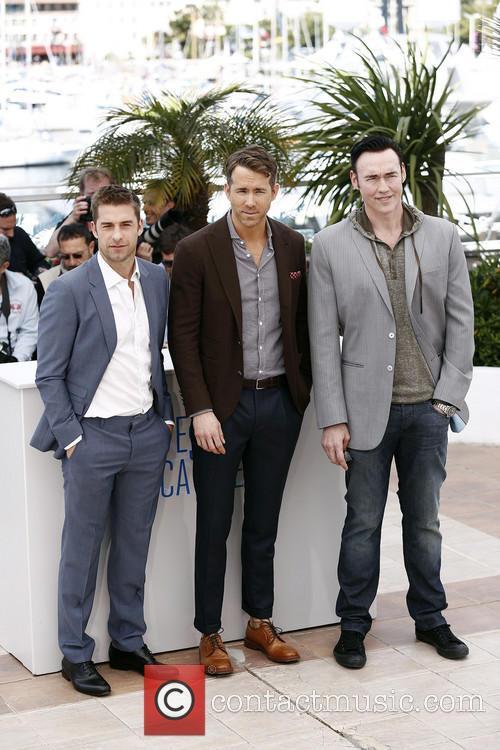 Kevin Durand, Atom Egoyan and Ryan Reynolds