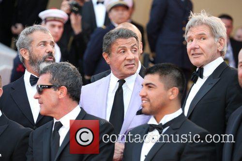 Mel Gibson, Antonio Banderas, Sylvester Stallone and Victor O