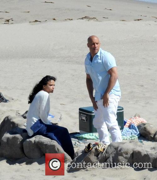 Vin Diesel and Michelle Rodriguez 2