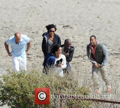 Vin Diesel, Tyrese Gibson, Michelle Rodriguez and Ludacris 7