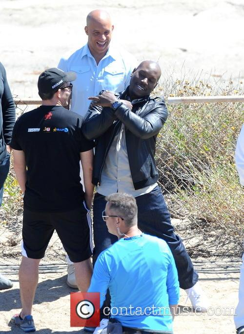 Vin Diesel and Tyrese Gibson 5