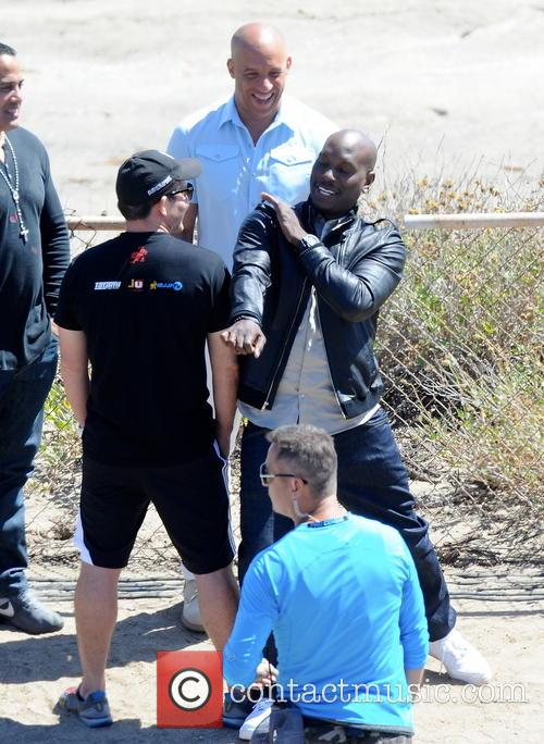 Vin Diesel and Tyrese Gibson 10
