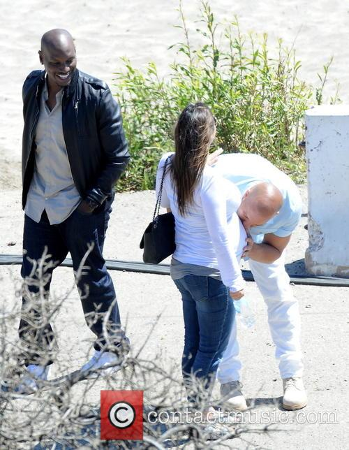 Vin Diesel and Tyrese Gibson 11