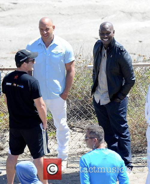 Vin Diesel and Tyrese Gibson 1
