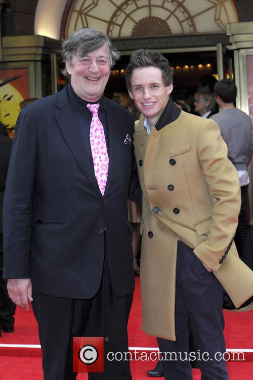 Stephen Fry and Eddie Redmayne