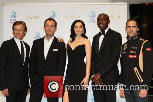 Jeremy Gilley, Jude Law, Jessie J, Fabrice Muamba and Pastore Maldonado 7