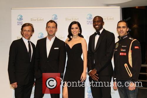 Jeremy Gilley, Jude Law, Jessie J, Fabrice Muamba and Pastore Maldonado 8