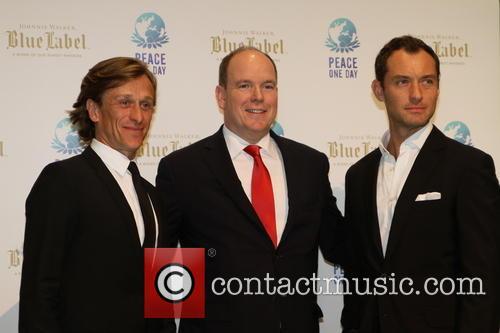 Jeremy Gilley, Jude Law and Prince Albert Ii Of Monaco 2