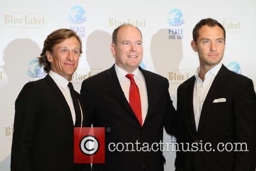 Jeremy Gilley, Jude Law and Prince Albert Ii Of Monaco 3