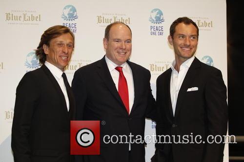 Jeremy Gilley, Jude Law and Prince Albert Ii Of Monaco 4