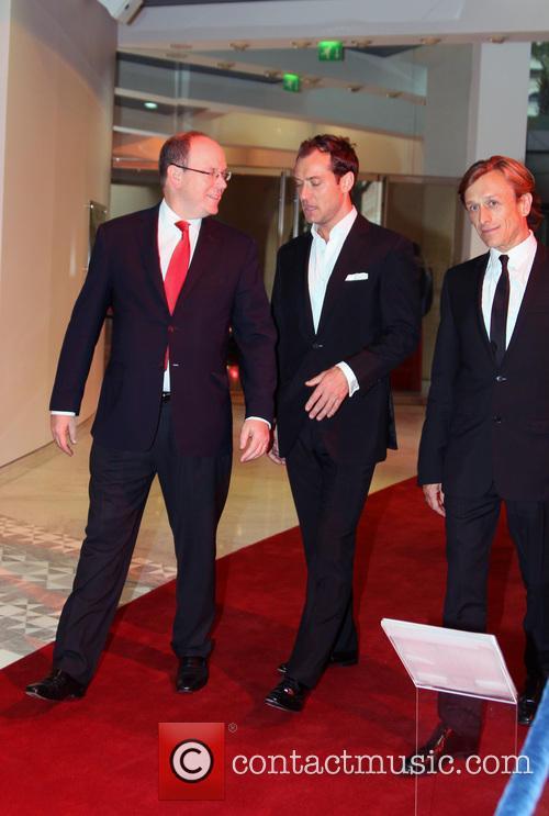 Jeremy Gilley, Jude Law and Prince Albert Ii Of Monaco 1
