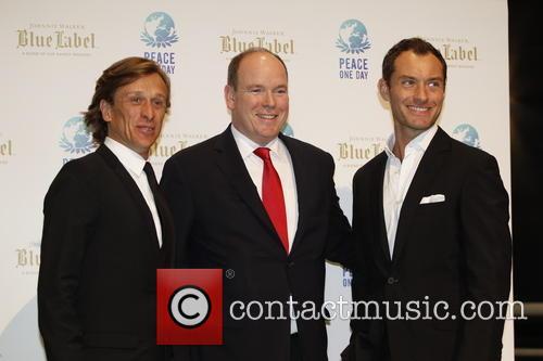 Jeremy Gilley, Jude Law and Prince Albert Ii Of Monaco 5