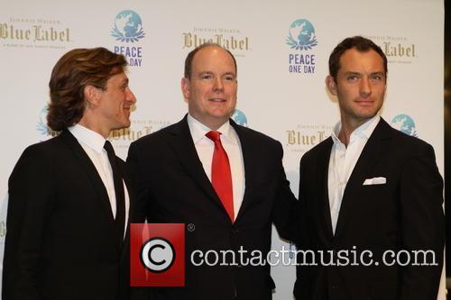 Jeremy Gilley, Jude Law and Prince Albert Ii Of Monaco 9