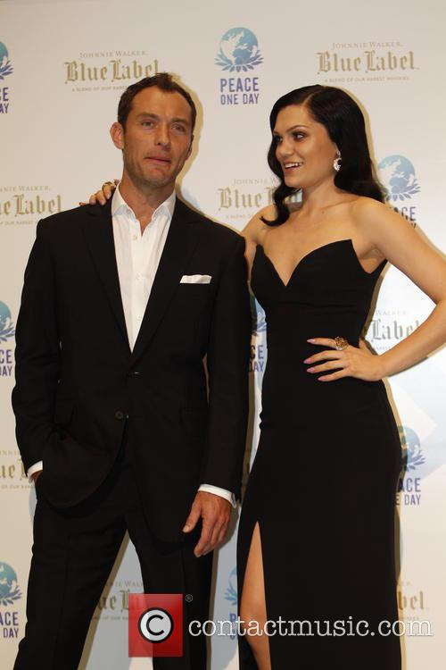 Jude Law and Jessie J