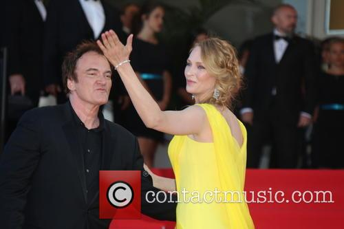 Quentin Tarantino and Uma Thurman 2