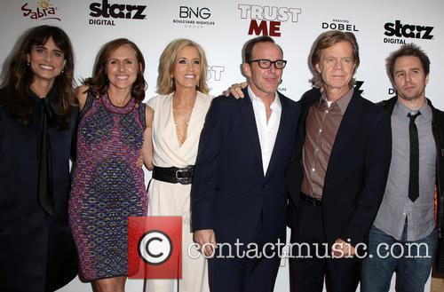 Amanda Peet, Molly Shannon, Felicity Huffman, Clark Gregg, William H. Macy and Sam Rockwell